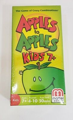 Apples to Apples Kids Edition For Ages 7+ Family Card Game NEW SEALED 2007.