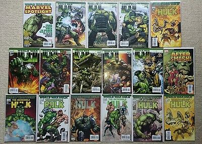 World War Hulk to WWHulks Collection + Fall of the Hulks / Red Hulk (117 issues)