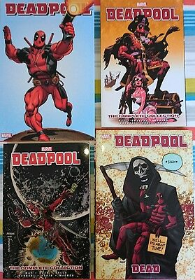 Deadpool by Daniel Way Hardcover RARE OHCs + TPBs Complete Collection