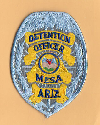 H8 * Htf Old Detention Officer Mesa Arizona State Police Patch *