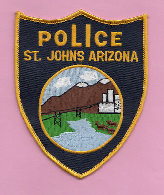 H29 * Older St. Johns Arizona Police Highway State Patch 1871