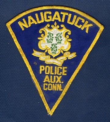 CONNECTICUT - Vintage - Naugatuck Police Auxiliary Patch