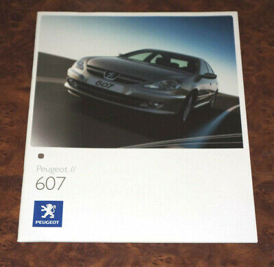 Catalogue Peugeot 607 de 2006