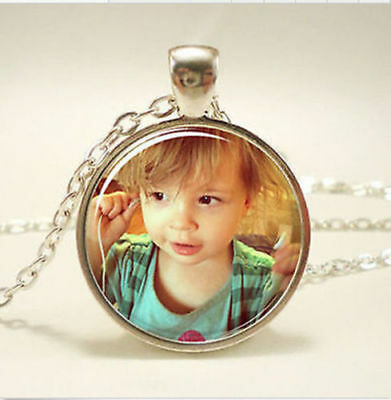 Personalized Photo Pendants Custom Necklace Loved One Gift for Family Member