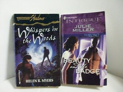 2 Romances-Whispers in the Woods by H.R. Myers/Beauty & the Badge by J. Miller