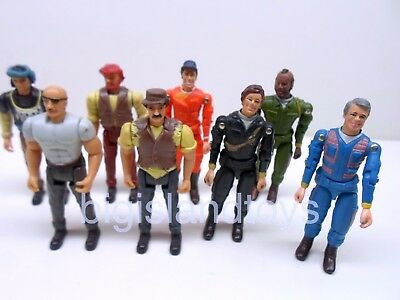"""The A-Team Galoob Vintage 1983 Action Figures Complete 6/"""" MULTI-LISTING"""