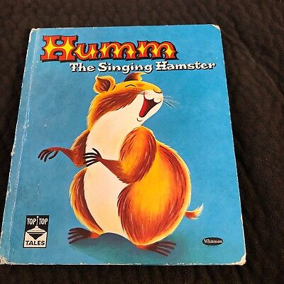 1961 Humm The Singing Hampster Whitman Top Top Tales