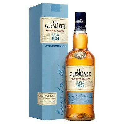 The Glenlivet 'Founder's Reserve' Single Malt Scotch Whisky (6 x700mL)