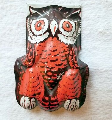 Owl with Wide Open Eyes. Snapper. Noise. Kirrchhof, N.J. 1930s. USA