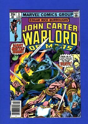 John Carter, Warlord Of Mars #9 Nm 9.4/9.6 High Grade Bronze Age Marvel Comic