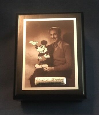 "Official Walt Disney Limited Edition Watch ""walt & Mickey"" New #830/1000"