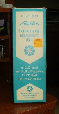 Replacement Aladdin Thermos Bottle Filler #032C Quart - New In Box!