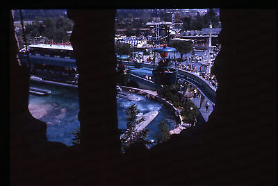 (35) Vintage 1963 35mm Slide Photo - DISNEYLAND - Sky Ride View