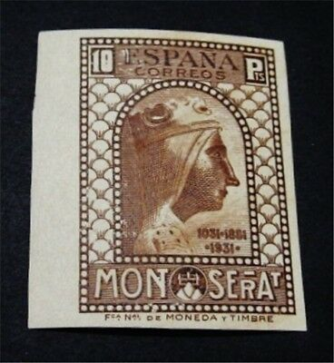 nystamps Spain Stamp # 513 Mint OG NH Proof Normal $720
