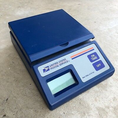 USPS PLUS 10 Electronic Postal Scale Max 10Lb X 0.1 oz Logo Blue NO AC ADAPTER