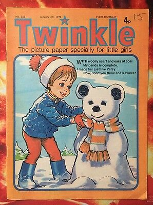 Twinkle  Comic No. 363 New Year Issue. Dress Twinkle. Puzzles Not Done Fn/vfn