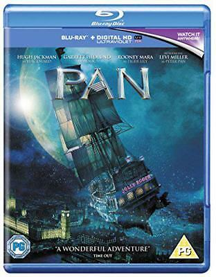 Pan [Blu-ray] [2015] [Region Free], DVD, New, FREE & Fast Delivery