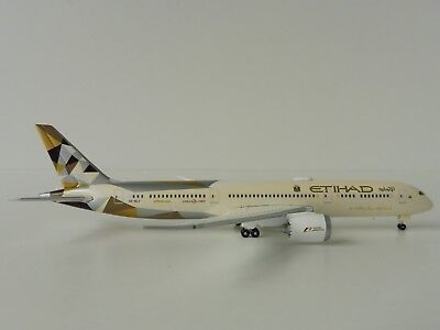 ETIHAD AIRWAYS Boeing 787-9 1/500 Herpa 527781-002 787 Dreamliner A6-BLF
