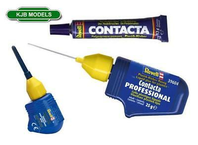 Revell Contacta Polystyrene Cement. Choice Of 3 Glues. Tube / Needle