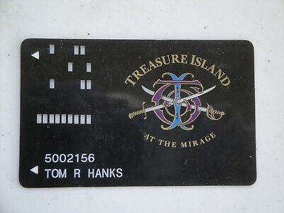 Vintage Treasure Island Casino Playing Card Slot Used Las Vegas