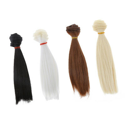 4pcs Stylish Doll Hair Wig for 1/3 1/4 1/6 Blythe Barbie BJD SD Dolls Accs