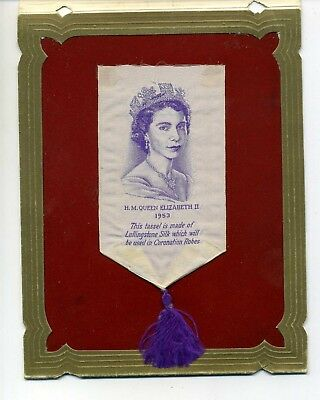 Queen Elizabeth Ii Tassel Made From The Silk Used In The Coronation