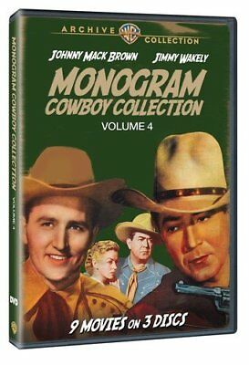 The Monogram Cowboy Collection Volume 4 [DVD] [1944] [Region 1] [U... -  CD R4VG