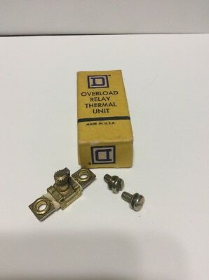 Square D A2.57 Overload Relay Thermal Unit Made In USA