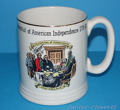 LORD NELSON Pottery * Vintage Bicentennial Of American Independence Tankard *