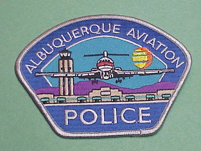 Albuquerque  New Mexico  Nm  Aviation  Police Patch  Nice!  Free Shipping!!!
