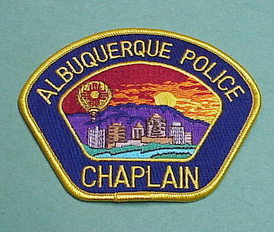 Albuquerque  New Mexico  Nm  Chaplain  Police Patch   Free Shipping!!!
