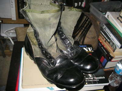 US Army USMC USN Jungle Boots 9R RO SEARCH 1985 Spike Protective