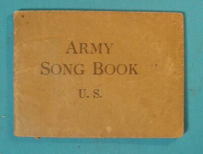 Great Book: Army Song Book U.s.   C1918