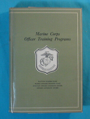Great Book: Marine Corps Officer Training Programs    C1930