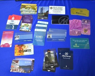 Lot of 31 Hotel and Casino Room Key Cards