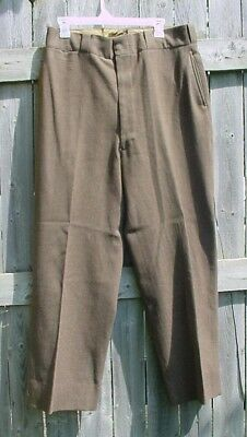 Us Army Officer Od Green Wool Trouser Pants