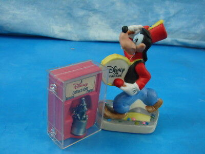 Schmid Disney On Parade Porcelain Goofy Figurine and Collectible Genuine Pewter