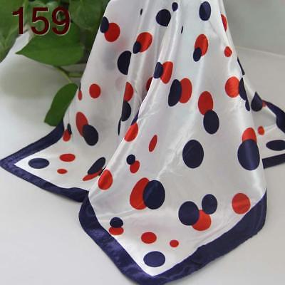 Office Women Ladies Elegant Small square Scarves Silky Office Kerchief Scarf 159