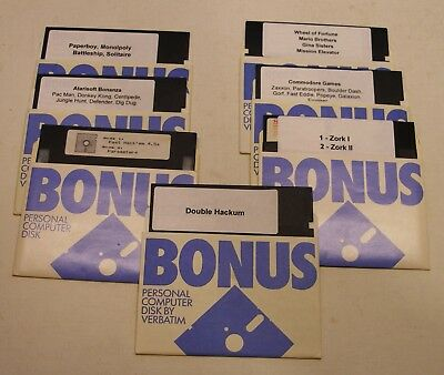 Fast Hack'em, Games Lot for the Commodore 64
