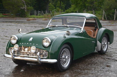 Triumph TR3  olid,Strong Driving Handsome TR3 With Hard top