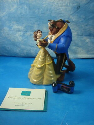 Beauty & the Beast Disney Classics Collection Figurine Tale as Old as time AS IS