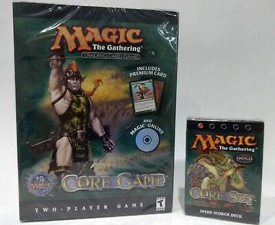 Magic The Gathering MTG * 8th Edition Speed Theme deck and 2 player Core Set