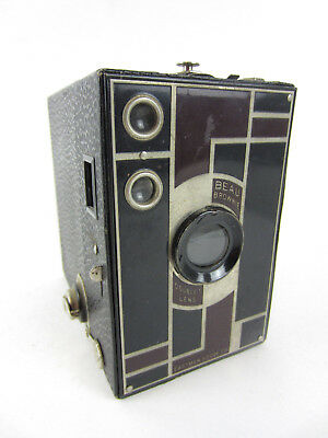 Vintage NO 2A BEAU BROWNIE Kodak 116 Film Camera Machine Age Art Deco Teague