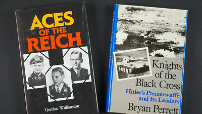 Ww2 German Ref. Books (2): 'aces Of The Reich' + 'knights Of The Black Cross'