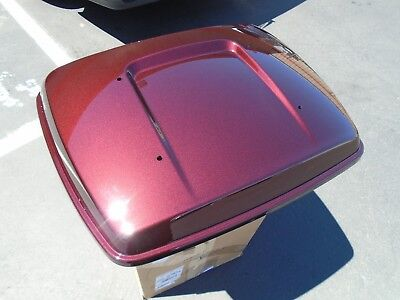 Harley Tour-Pak Lid USED 14+ Touring Limited 53000372EFH Twisted Cherry Pack
