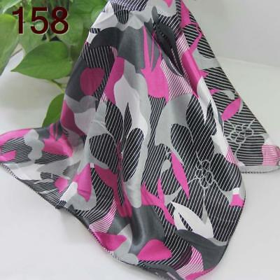 Office Women Ladies Elegant Small square Scarves Silky Office Kerchief Scarf 158