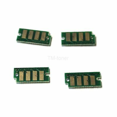 4 High Yield Toner cartridge Chips for Dell C3760n, C3760dn, C3765dnf Printer