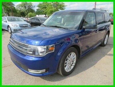 Ford Flex SEL 2014 SEL Used 3.5L V6 24V Automatic FWD SUV clean clear title carfax low miles