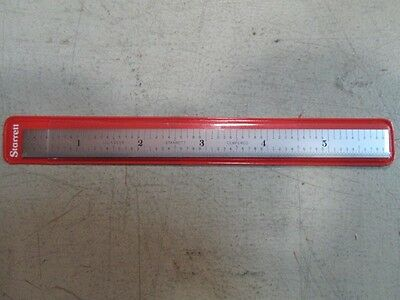Starrett C305R-6 Flexible Rule 6 Inch Scale 5R Graduations