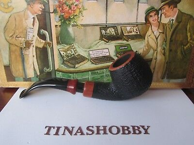 Vintage Pipe Mastro De Paja Pesaro Italia 1B Beautiful Bent Pipe